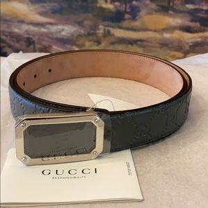 Authentic BNWT Gucci Unisex Belt